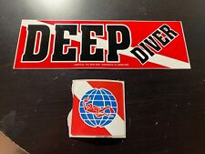 NEW SCUBA DIVING DECALS / STICKERS
