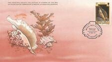 COLLECTION TIMBRES DE LA MER FONDATION COUSTEAU / FAUNE POISSON COQUILLAGE 1979