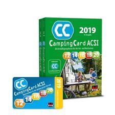 ACSI Camping Card 2019 + Ermäßigungskarte f. die Vor- und Nachsaison Rabattkarte