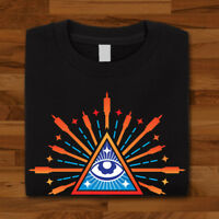 PDX Synth Club All Seeing Eye Synthesizer Unisex Free UK Delivery HD3 T-Shirt