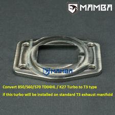 Turbo Flange Convert for Factory VOLVO 850 940 S70 V70 TD04L TD04HL Header to T3
