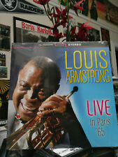 LOUIS ARMSTRONG - LIVE IN PARIS 65 LP Hello Dolly St. James Mack the Knife