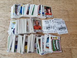 Panini Sonrics World Cup Story 1990/1994, 750 Sticker/Bilder, VGC/sehr gut, rare