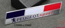 EMBLÈME SIGLE PEUGEOT SPORT 208 V2 107 206 207 GTI WRC TURBO 205 306 307 CC