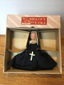 Vintage Melody Nun Doll #200 In Its Original Box Dated 1947 Looks Composition