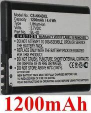 Batterie 1200mAh type BL-4D C4D10T N4D113J TB-BL4D Pour Nokia RM-555