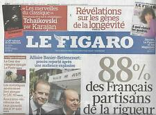 LE FIGARO N°20502 2 JUILLET 2010 RIGUEUR/ LA POSTE/ MIGRANTS/ LOUVRE/ NY TIMES