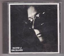David J - On Glass CD - Glass GLACD 017 1986 Import Love and Rockets Bauhaus