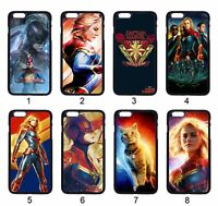 Captain Marvel Avengers Case For Samsung iPhone iPod Motorola LG SONY HTC HUAWEI