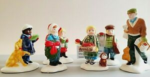 Department 56 Snow Village- 6 Accessories  Please see the photos. Sorry no Box💖