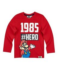 Boys Girls Kids Character Long Sleeve T-Shirt Top age 2-12 year Xmas gift