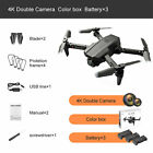 LSRC LS-XT6 Mini WiFi FPV 4K/1080P HD Dual Camera Foldable RC Drone Quadcopter