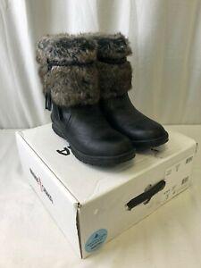 Minetonka Everett Women's Cold Weather Boots Black Size 8M (2101270258)