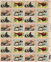 """US Scott # 1464-1467 - PANEL Of 32 """"WILDLIFE CONSERVATION"""" 8 Cents STAMPS - MNH"""