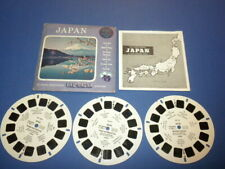 JAPAN B262 Viewmaster 3 reels PACKET SET