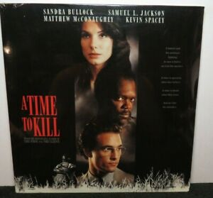 A TIME TO KILL SANDRA BULLOCK SAMUEL JACKSON NEW SEALED LASER DISC