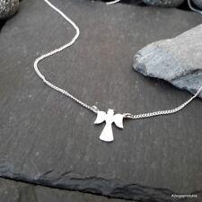 Engel, Schutzengel mit Flachpanzerkette in 925er Silber, 42 cm, NEU
