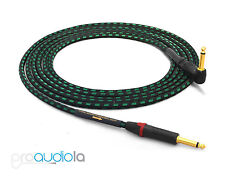 "Evidence Audio Lyric HG Instrument Cable   Neutrik Gold 1/4"" TS to 90º   4 ft."