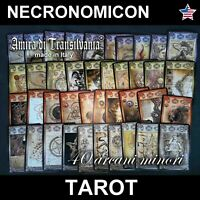 necronomicon tarot cards deck lovercraft occult vintage black magic book guide
