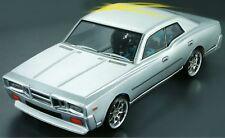 RC 1 10 Drift Car 190mm Unpainted Body Shell Nissan Cedric fits Tamiya Yokomo
