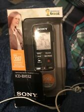 Sony ICD-BX132 2 Go Handheld IC Digital Voice Recorder Dictaphone dictée
