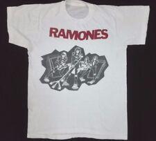 SUPER RARE VTG 1970s 1978 RAMONES ROAD TO RUIN 50/50 T Shirt USA Punk Rock Small
