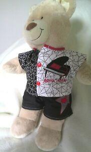 BAB Build a bear clothes to fit boys teddy shorts and shirt set 40 cm handmade
