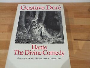 DANTE The Divine Comedy complete text 136 illustrations by Gustave Dore HB DJ