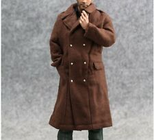 "1/6 Scale Hot ARMY Brown Trench coat For 12"" Action Figure Toys"