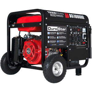 DuroStar DS10000E 10000-Watt 440cc Gas Generator w/ Electric Start and Wheel Kit