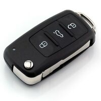 3 Tasten Auto Schlüssel Klappschlüssel Gehäuse für VW Golf Polo T5 Caddy Tiguan