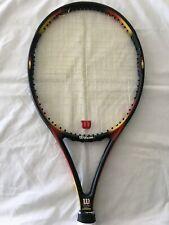 Vintage Wilson Pro Staff 6.1 stretch tennis racket rare 110 head