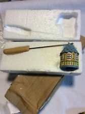 New Yankee Candle Resin Snuffer Safety Extinguisher Birdhouse w Birds RARE Wick