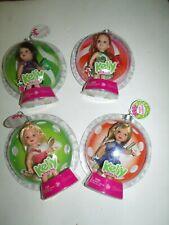 Happy Holidays Kelly Set Of 4 NRFB Barbie Mattel Dolls Christmas