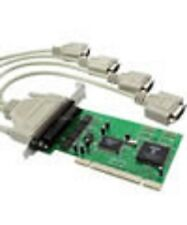 4-Port Serial/RS232/DB9 PCI Card