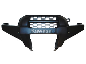 2012-2021 Kawasaki Brute Force 750 OEM Black Front Bumper Guard 14092-0188-6Z