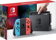 BRAND NEW Nintendo Switch 32GB Gray Console Neon Red Neon Blue Joy Con IN HAND