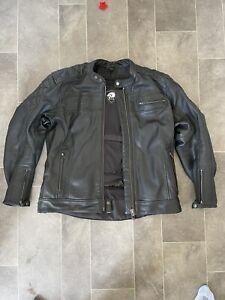 BKS Leather Jacket XL Black