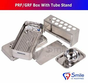 PRF Box With Free Tube Stand -System Platelet Rich Fibrin Dental Implant Surgery