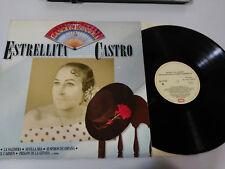 """ESTRELLITA CASTRO ANTHOLOGY OF THE CANCION ESPAÑOLA VG/VG - LP VINYL VINYL 12"""""""