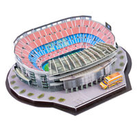 3D Camp Nou Footable Field Model Self Assembly Puzzle Handcraft Art