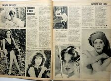 SYLVIA KRISTEL => 2 pages 1976 vintage CHILEAN CLIPPING
