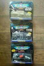 Micro Machines Space Star Wars Empire Strikes Back Return of the Jedi 3-pack Lot