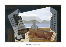 LANDSCAPE ART PRINT - The Open Window, 1921 by Juan Gris Guitar Poster 28x20