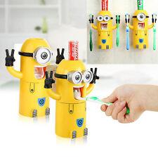 Enfants Minions Automatique Dessin animé Dentifrice Support de brosse à dents