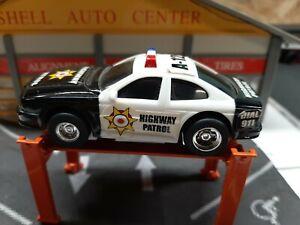 Carrera  ? 1/43 Highway patrol slot car .
