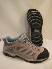 EUC !! Alpine Design Pathway Tan Leather Womens Trail Running Shoes US 8