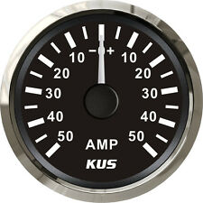 52mm KUS black ±50A AMMETER CMAR-BS±50 (SV-KY06007) with current pick-up unit