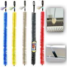 Long Handle Radiator Cleaning Bristle Brush Easy Reach Heater Dust Duster 70cm