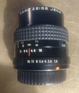 CARL ZEISS JENA PANCOLAR MC 80mm F1.8